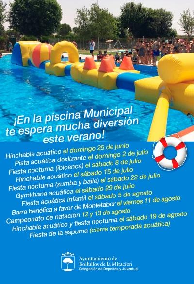 Inauguracion De La Temporada De Bano Libre En La Piscina Municipal